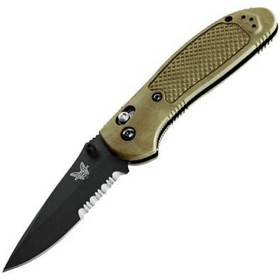 """551SBKOD Нож Benchmade """"Pardue Axis Olive"""""""