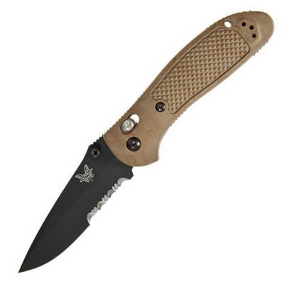 "551SBKSN Нож Benchmade""Pardue Axis Sandcam"""