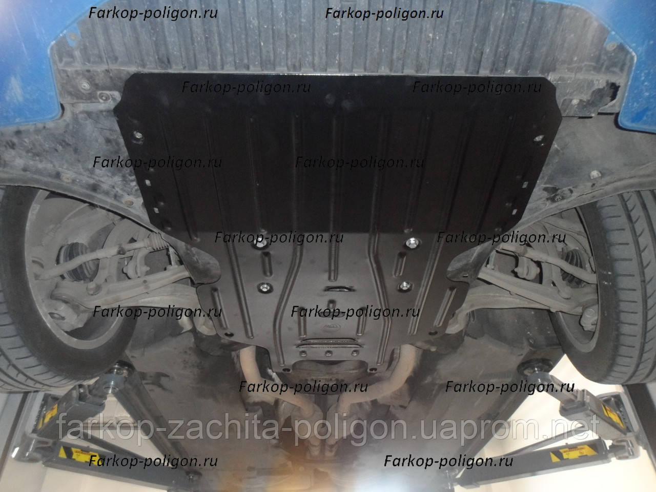 Защита картера AUDI A4 дизель с 2008-2012 г.