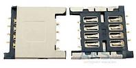 (Коннектор) Aksline Разъем SIM-карты HTC Z710e Sensation / Z715e Sensation XE