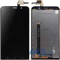 Дисплей (экраны) для телефона Asus ZenFone 2 ZE551ML + Touchscreen Original Black