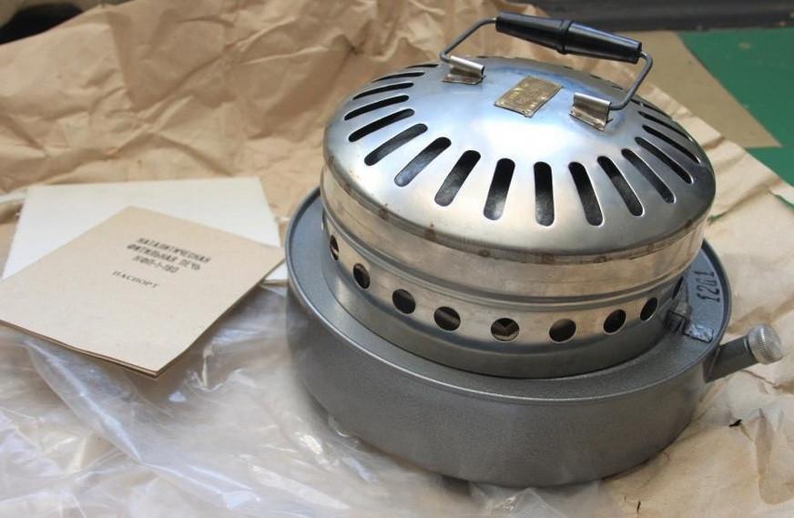 Военная каталитическая фитильная печь КФП-1-180 на бензине и спирту