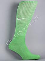Гетры футбольные зеленые Найк (Nike)
