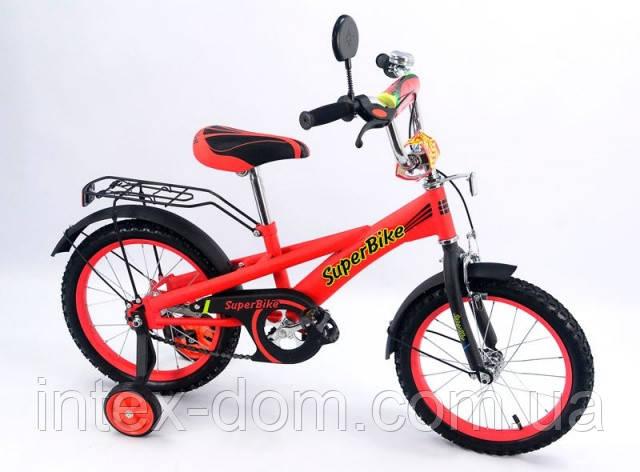 Велосипед 16« детский 151606 со звонком, зеркалом