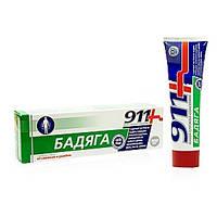 Твинс Тэк, Россия 911 Бадяга  гель/тела 100мл от синяков и ушибов