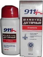 Твинс Тэк, Россия 911 Дегтярный шампунь при себорее,псориазе, перхоти 150мл