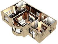 Моделирование домов, квартир, офисов в 3D