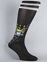 Гетры футбольные ФК Манчестер Сити (Manchester City) Черные, фото 1