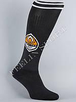 Гетры футбольные ФК Шахтер (FC Shakhtarl) Черные, фото 1