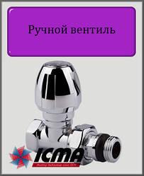 """Ручний прямий вентиль ICMA ТЮЛЬПАН 1/2"""""""