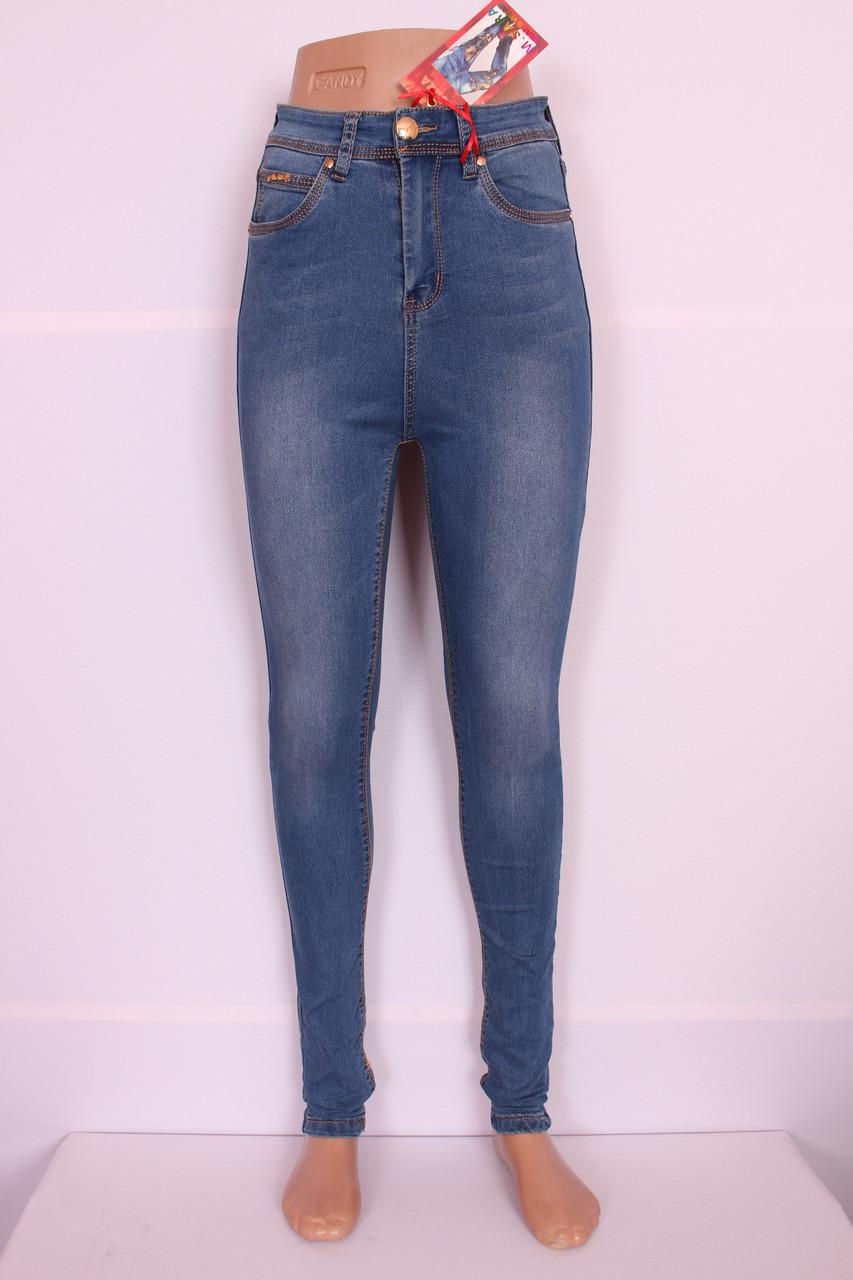 Женские  джинсы на талии,высокая посадка 26-32размер