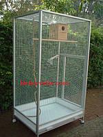 Клетка вольер для певчих птиц. Размер 1,8 х 0,8 х 0,7 м.