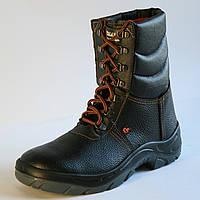 """Рабочие ботинки с высокими берцами на ПУП """"Охрана"""""""