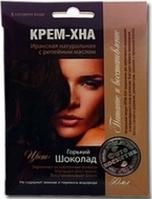 Краска для волос Горький шоколад Фармаком КРЕМ-ХНА с репейным маслом 50 мл (4820190620422)