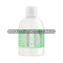 Увлажняющий шампунь c экстрактом водорослей и оливковым маслом Kallos ,1000 мл