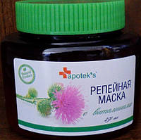 Миролла, Россия Репейная маска с комплексом витаминов для укрепления  волос 250мл