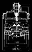 Автокран КЛИНЦЫ КС-65719-3К-1 на шасси КАМАЗ-63501, фото 3