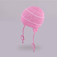 Ажурная шапка для девочки TuTu арт. 3-002487(38-42), фото 1