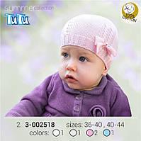 Модная шапка для девочки TuTu арт. 3-002518