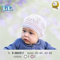 Шапка для девочки TuTu арт. 3-002511