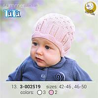 Шапка для девочки TuTu арт. 3-002519 белый, 38-42