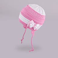 Демисезонная шапка для девочки TuTu арт. 3-002513(44-48)