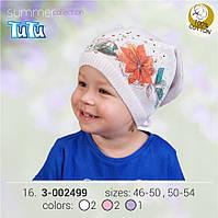 Шапка для девочки TuTu арт. 3-002499 сиреневый, 50-54