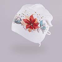 Демисезонная шапка для девочки TuTu арт. 3-002499(46-50, 50-54), фото 1
