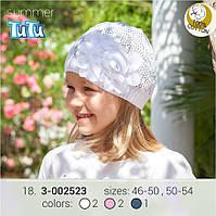 Шапка для девочки TuTu арт. 3-002523