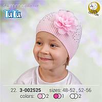 Шапка для девочки TuTu арт. 3-002525