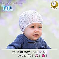 Шапка для девочки TuTu арт. 3-002512 малиновый, 46-50
