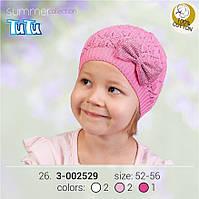 Шапка для девочки TuTu арт. 3-002529