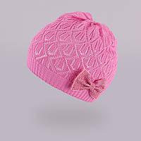 Демисезонная шапка для девочки TuTu арт. 3-002529(48-52, 52-56), фото 1