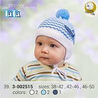 Шапка для мальчика TuTu арт. 3-002515