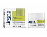 Крем для восстановления гидробаланса для кожи лица, 50мл, Сухая кожа, Lirene