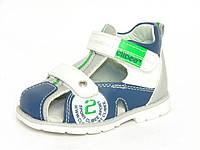 Летняя ортопедическая детская обувь Clibee арт.A-117 син-зелён. (Размеры: 19-24)