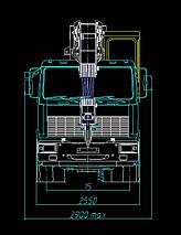 Автокран КЛИНЦЫ КС-65719-6К-1 на шасси МАЗ-6312В3, фото 3