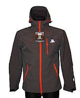 Куртка мужская Salomon № 1558 ( серый)