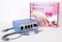 Фрезерная машинка для маникюра и педикюра Electric drill JD800 (30000 об./мин) CVL /35