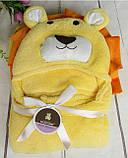 Плед-полотенце с капюшоном , фото 7