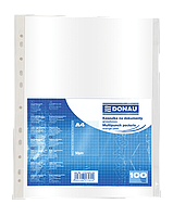 Файлы для документов глянцевые DONAU А4 50мкм (1772100PL-00)