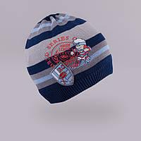 Модная шапка для мальчика TuTu арт. 3-002501