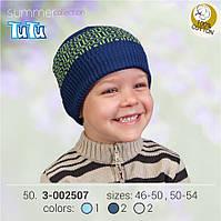 Шапка для мальчика TuTu арт. 3-002507