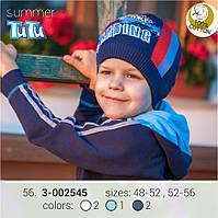 Шапка для мальчика TuTu арт. 3-002545