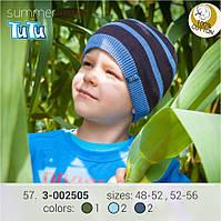 Шапка для мальчика TuTu арт. 3-002505