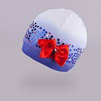 Демисезонная шапка для девочки  TuTu арт. 3-002228(50-54)