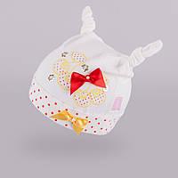 Шапка из тонкого трикотажа для девочки TuTu арт.87. 3-002269