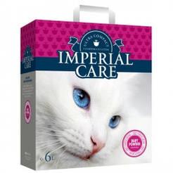 Империал (IMPERIAL CARE) с BABY POWDER ультра-комкующийся наполнитель в кошачий туалет 10кг