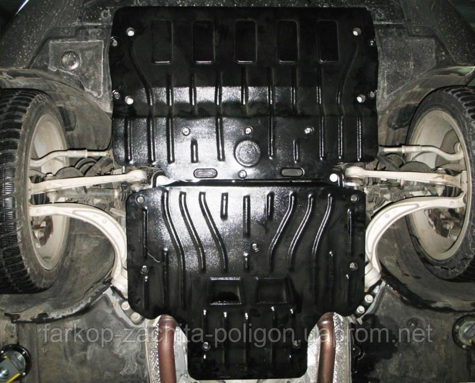 Защита картера AUDI A6 2,0;3,0 TFSi Quattro АКПП; с 2010-2012 г.