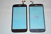 Оригинальный тачскрин / сенсор (сенсорное стекло) для Explay A500 (черный цвет) + СКОТЧ В ПОДАРОК